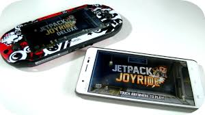 ps vita android ps vita vs android gaming jetpack joyride deluxe