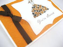 fall bridal shower invitation sample