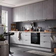 cuisine contemporaine design photo de cuisine design le gris est mise dans la 5870843 lzzy co