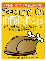 feasting on inferences a thanksgiving packet about making inferences