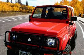 samurai jeep for sale find used 88 suzuki samurai jx silver convertible 2 door 5 speed