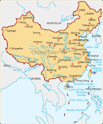map of china map of china china attractions and cities maps
