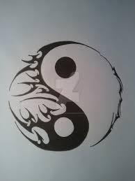yin yang designs search pinteres