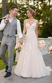 silver wedding dresses wedding dresses sparkling silver lace wedding dress stella york