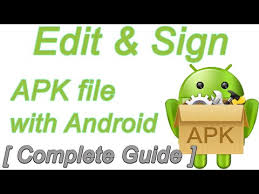 sign apk edit sign apk file with android 100 working complete guide
