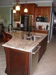 Island In Kitchen Ideas - mini fridge built into island in kitchen for drinks home is