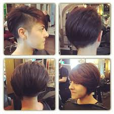Half Shaved Hairstyles Girls by Half Shaved Women U0027s Short Hair Style Glorious Hair Pinterest