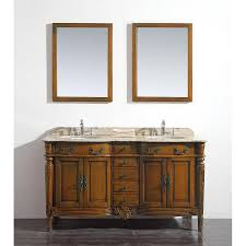 shop ove decors karen chestnut undermount double sink bathroom