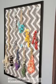 How To Make Magnetic Jewelry - easy to make magnetic board jewelry organizer