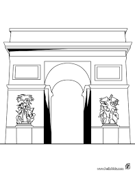 gard roman aquaduct coloring pages hellokids com
