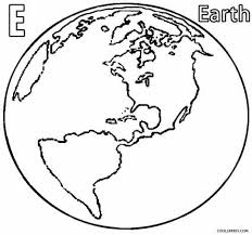 25 earth coloring pages ideas earth