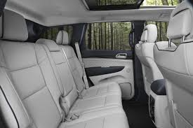 new jeep truck interior 2017 jeep grand cherokee trailhawk and updated summit launch in