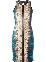 roberto cavalli snakeskin print dress 1 071 buy ss16 online
