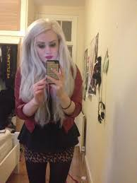 Foxy Clip In Hair Extensions by Foxy Locks Platinum Blonde Extensions U2013 Triple Weft Hair Extensions