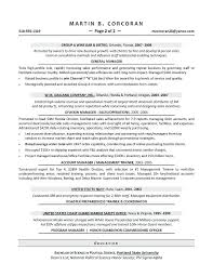 Retail Area Manager Resume Sample Resume For It Manager Sample Resume For Senior Network