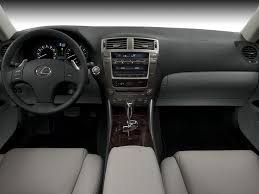 black lexus interior 2007 lexus is250 cockpit interior photo automotive com