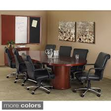 5 foot conference table mayline mira 96 racetrack conference table free shipping today