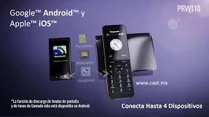 panasonic kx t7735 manual panasonic kx prw110 teléfono inalámbrico dect y wifi con su diseño