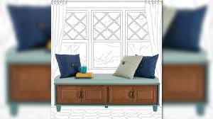 how to build a bench seat with storage from lowe u0027s easy and