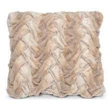 Faux Fur Blanket Queen Harbor King Linen Duvet Sheet Sham Throw And Decorative Pillow
