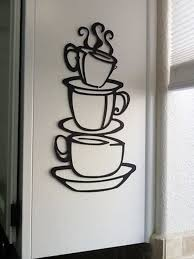 kitchen wall decorations metal i need this morning coffee cups