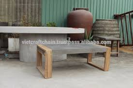 Concrete Coffee Table Concrete Coffee Table With Wood Frame Buy Concrete Table