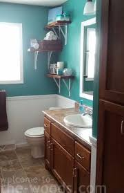 Chair Rail Ideas For Bathroom - i would love black and whites in our new teal bathroom new house