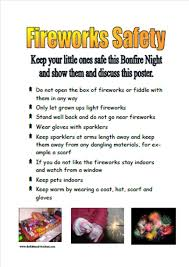 firework safety poster img future 4 h projects pinterest