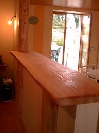 bar cuisine bois creer un comptoir bar cuisine plan de travail en bton cir u2013
