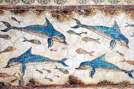 Dolphin Vase Handmade Dolphin Vase Cretan Eshop