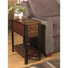 narrow end tables with storage very narrow side table wayfair
