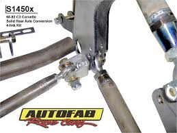 solid axle corvette 68 82 c3 corvette solid rear axle conversion 4 link kit