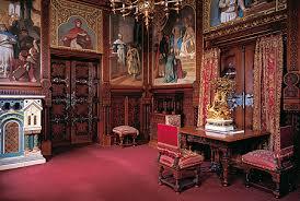 Bayerische Schlösserverwaltung Neuschwanstein Tour Of The - Castle dining room