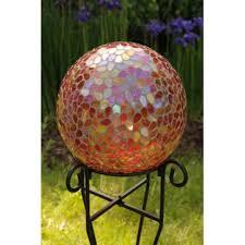 Gazing Balls Garden Buy Garden Decor Garden Decor Teardrop Mosaic Gazing Ball Buy