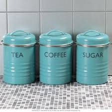 canisters sets for the kitchen aqua kitchen canisters tea coffee sugar kitchen canister set aqua