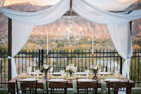 wedding backdrop rentals utah county alpine event rentals wedding rentals utah tables chairs