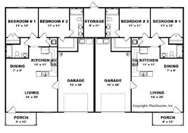 Duplex Townhouse Plans Duplex Country Style House Plans 2514 Square Foot Home 1 Story