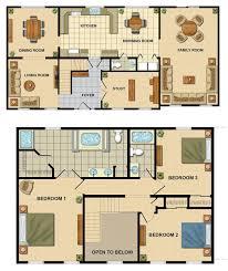 2story muncy halifax floorplan two story mobile home floor plans