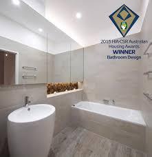 HIACSR Australian Housing Awards Winner  Bathroom Design - Australian bathroom designs