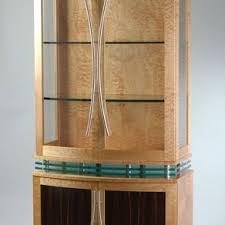 Art Deco Round Display Cabinet Custom China Cabinets Custommade Com