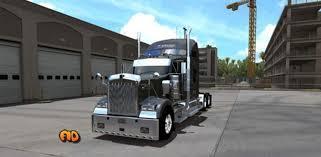kenworth truck w900 kenworth w900 knight refrigerated mod ats euro truck simulator 2 mods