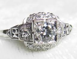 1920s engagement rings deco ring deco engagement ring 1 0cttw european cut