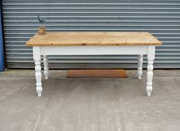 Solid Pine Victorian Solid Pine Farmhouse Dining Table Antiques Atlas Solid