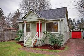 Tiny House Cottage Tiny Classic Cottage Lists In Greenwood At 425k Curbed Seattle