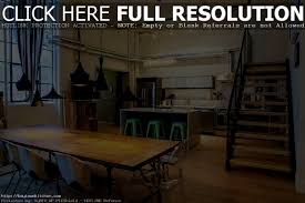 apartments likable cool industrial kitchen ideas modern table