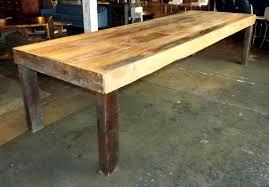 Old Pine Furniture Custom Old Growth Yellow Pine Farmhouse Table U2013 Salvage One