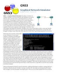 tutorial gns3 linux gns tutorial 3 0 5 pdf docsity