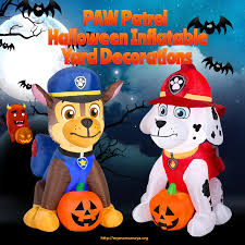 paw patrol halloween inflatable yard decorations u2022 mymamameya kids