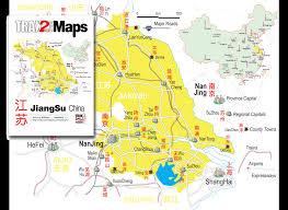 Nanjing China Map by Jiangsu Map Map Of Jiangsu Province China