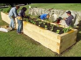 How To Make A Raised Bed Vegetable Garden - how to plant a raised garden bed this old house youtube